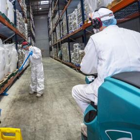 Image du secteur Propreté en<br /> milieu industriel