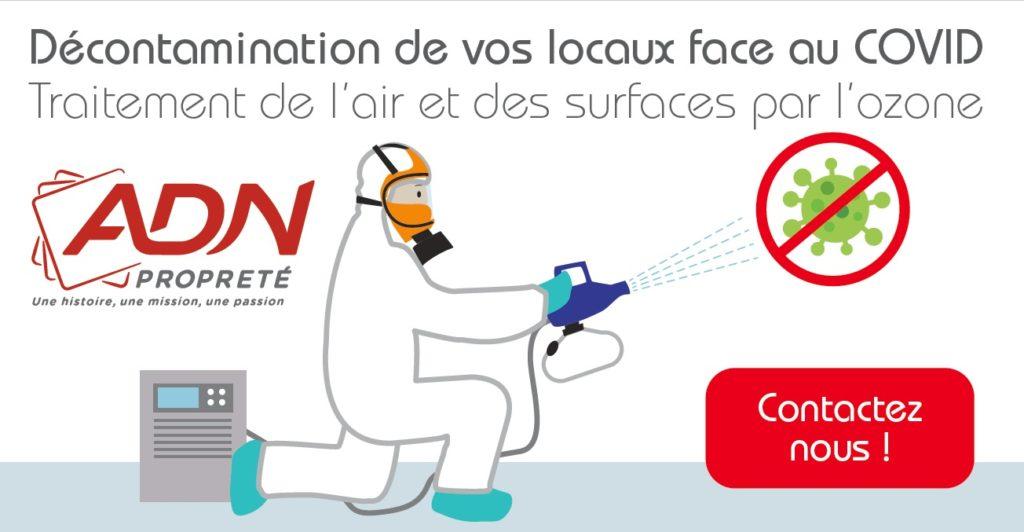 covid19 - Desinfection des locaux à l'ozone
